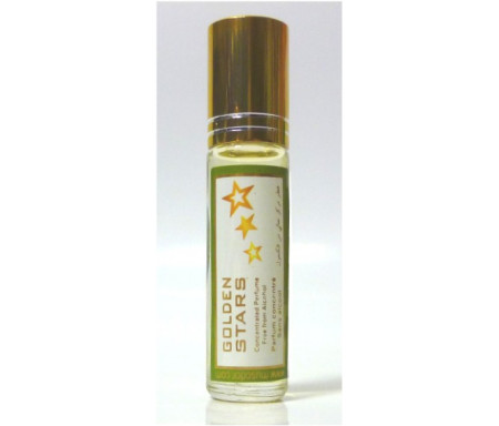 """Parfum concentré sans alcool Musc d'Or """"Golden Stars"""" - 8 ml"""