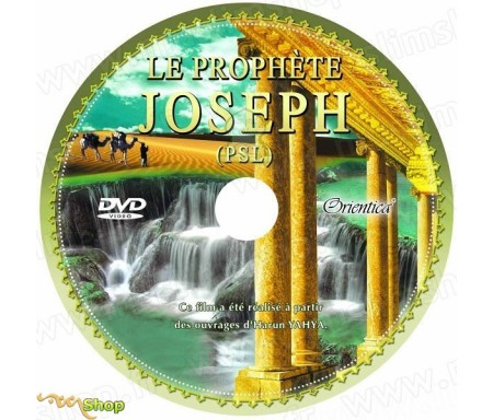 Le prophète Joseph (Youssouf - PSL) en DVD - Film documentaire en langue française