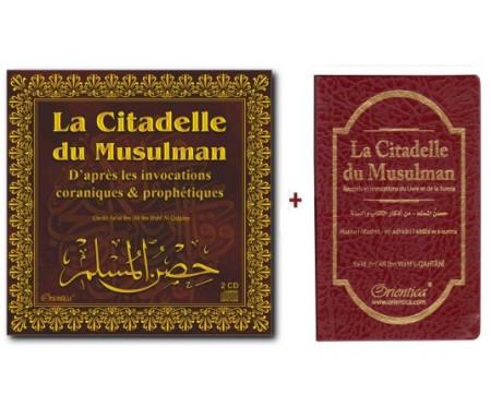 """Pack """"La citadelle du musulman"""" (CD audio + Livre)"""