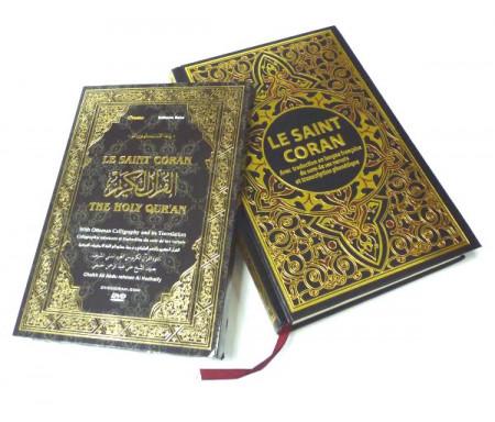 Pack Livre + DVD (Cheikh Abdelbasset) : Le Saint Coran avec traduction en langue française du sens de ses versets et transcripti