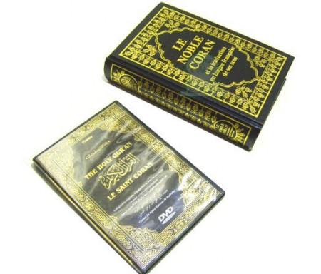 Pack Livre + DVD Le Noble Coran (pour l'apprentissage du Coran par les francophones)