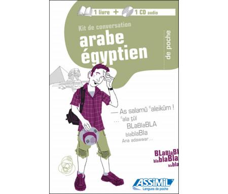 """L'Arabe égyptien de poche """"Livre + CD"""""""