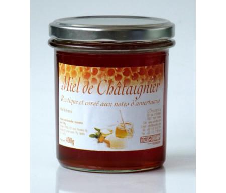 Miel de Châtaignier (375 gr) : Aide à la circulation du sang