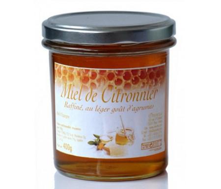 Miel de citronnier (375 gr) : Anti-fatigue – Aide à la digestion