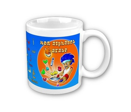 "Mug ""Mon alphabet arabe - Junior"""
