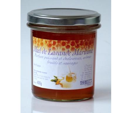 Miel de lavande-maritime (Khouzâma) (375 gr) : Favorise la respiration, calmant, soulage les rhumatismes