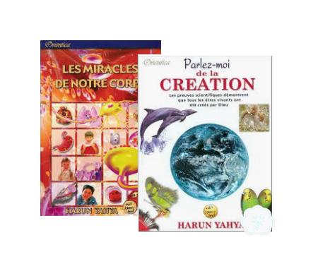 Pack Duo Livres : Les miracles de notre corps (2614) + Parlez-moi de la création (2615)