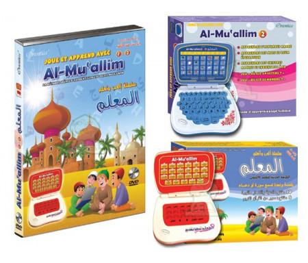 Pack Ordinateurs Al-Mu'allim 1 + Al-Muallim 2 + DVD Al-Mu'allim