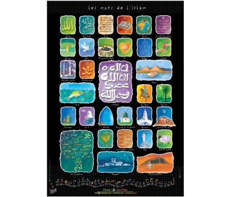 """Poster """"Les mots de l'Islam"""""""