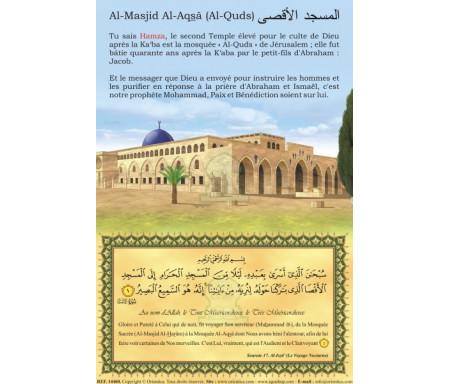 Puzzle personnalisé 120 pièces : La Mosquée Al-Quds (Al-Masjid Al Aqsâ / Bayt Al-Maqdis)