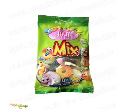 Bonbons Softy's Halal - Mix Acidulés (100g)