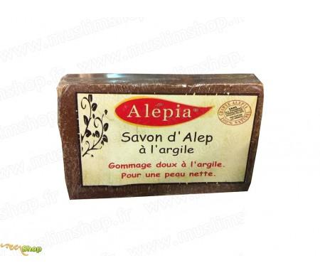 Savon d'Alep à l'argile rose (125gr)