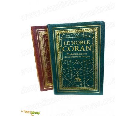 Le Noble Coran et la Traduction du Sens de ses versets en Français (2 coloris)