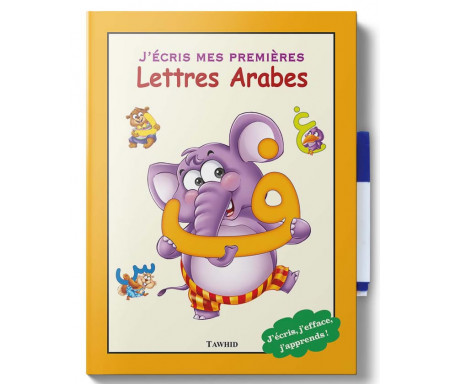 J'écris mes premières lettres arabes + Stylo effaçable !