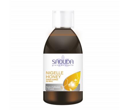 Nigelle Honey : Sirop gorge nigelle et miel
