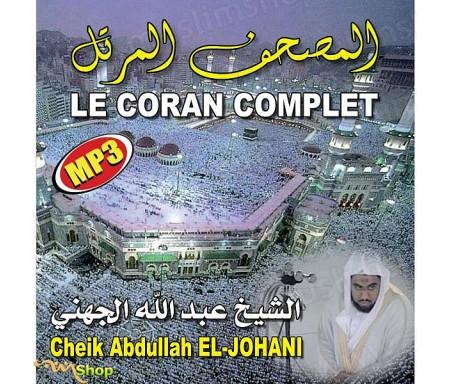 Le Coran Complet au Format MP3 par Cheikh EL-JOHANI