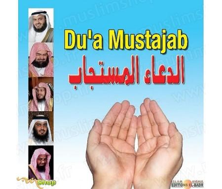 CD Du'a Mustajab - Les Invocations exaucées