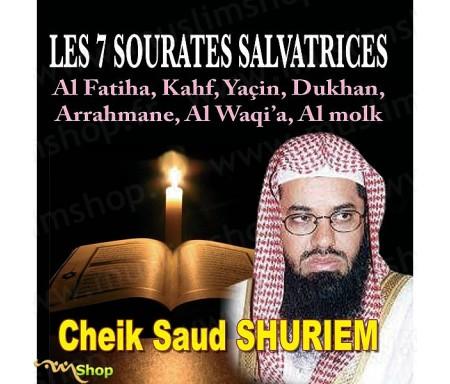CD Les 7 Sourates Salvatrices par Cheik Saud Shuriem