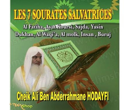 CD Les 7 Sourates Salvatrices par Cheikh Houdaifi