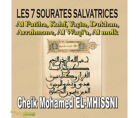 CD Les 7 Sourates Salvatrices par Cheik Mohamed El-Mhissni