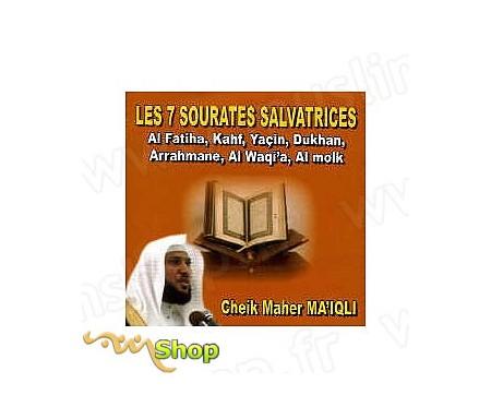 CD - Les 7 sourates salvatrices par Cheik Maher Ma'Iqli