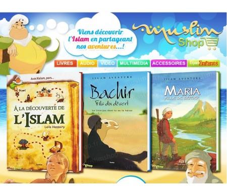 """Pack 3 Livres dont tu es le Héros """"A la Découverte de l'Islam"""""""