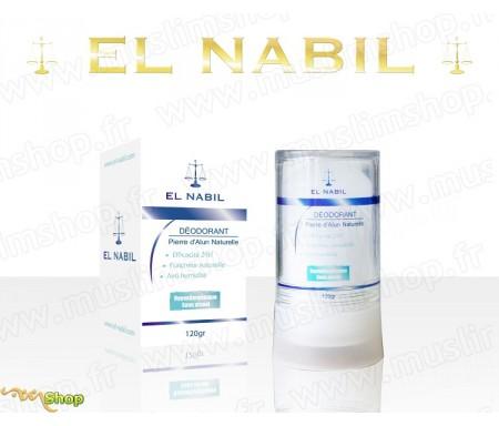 El Nabil - Deodorant Pierre d'Alun naturelle - 120g
