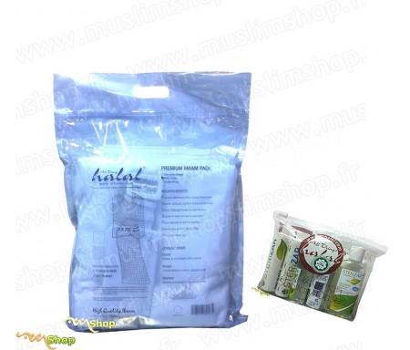 Pack Ihram + Set Antiseptique Sterizar avec pochette