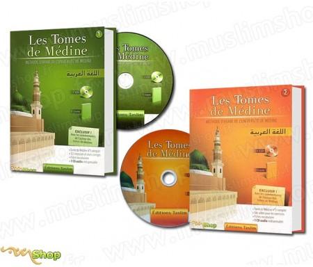 Pack 2 Livres - Les Tomes de Médine + CD Audio