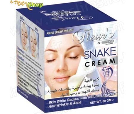 Crème aux extrait de serpent Hemani Fleur's + Savon -100g