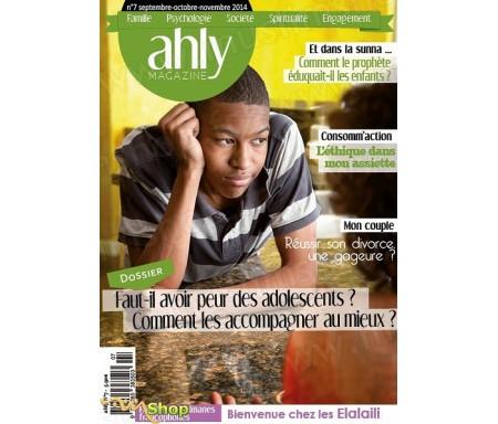 Magazine Ahly Numéro 7 : L'adolescence