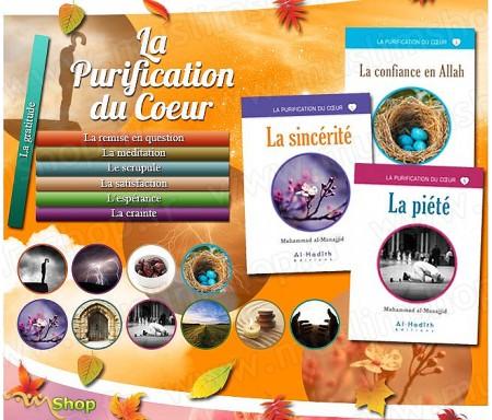 """Pack 10 livres """"La purification du Coeur"""""""