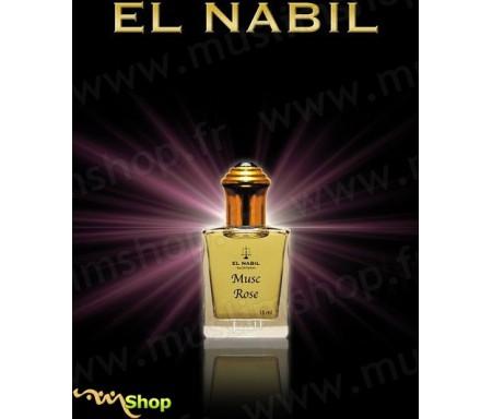 "Parfum El Nabil à Bille Roll-on ""Musc Roses"" 15ml"