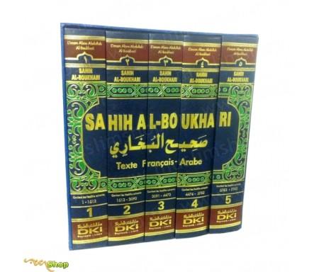 Nouvelle Version du Sahih Al Boukhari - 5 tomes - Textes Français/Arabe