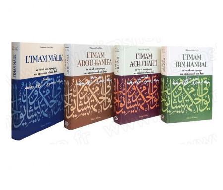 Pack des Quatres Imams : L'Imam Mâlik, l'Imam Aboû Hanîfa, l'Imam ach-Châfi'î et l'Imam Ibn Hanbal