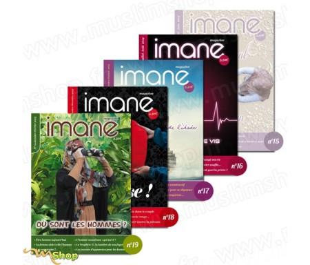 Pack Magazines Imane n°15 à n°19