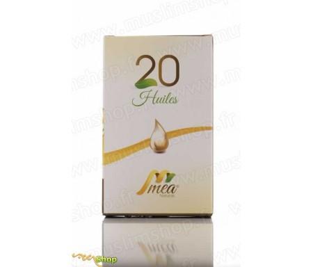 20 Huiles pures et naturelles (MEA) -125ml