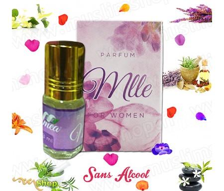"""Parfum Musc MEA """"Mlle"""" pour femme - 3ml"""