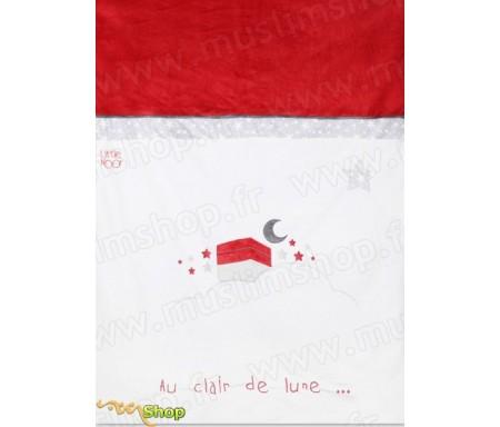 """Couverture de lit """"Au clair de lune à la Mecque"""" - Little Noor"""