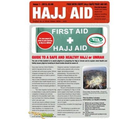 Hajj premiers soins + Livret Santé et sécurité (en Anglais)