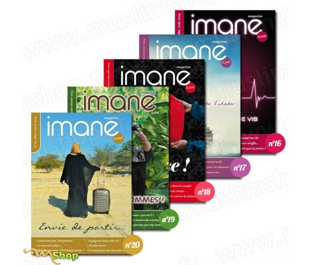 Pack Magazines Imane n°16 à 20