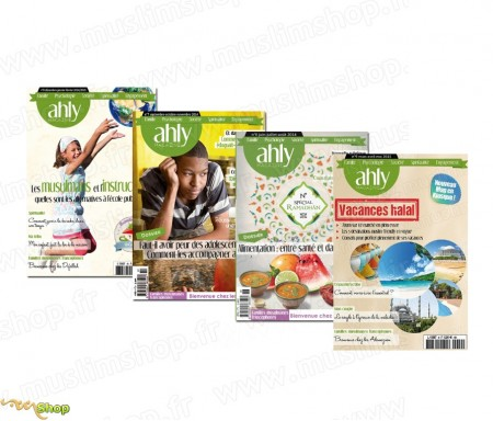 Pack 4 Magazines Ahly n°6 à 9