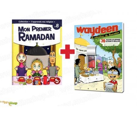 "Pack ""J'Apprends ma Religion - Mon Premier Ramadan"" (Tome 8) + Calendrier du Ramadan Waydeen 2017"