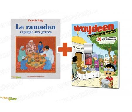 "Pack ""Le Ramadan expliqué aux Jeunes"" + Calendrier du Ramadan Waydeen 2017"