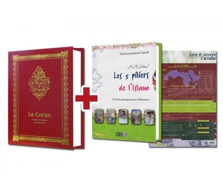 Coran Format Moyen - Petit + 2 Cadeaux Offerts