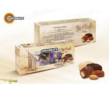 Chocodate Boite Burj Al Arab (Blanc) - 3 Chocolats 150gr