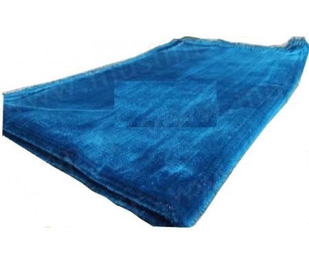 Tapis de Prière Velours couleur uni - Bleu Outremer