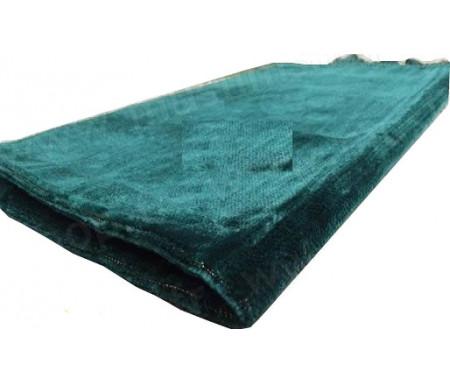 Tapis de Prière Velours couleur uni - Vert Sapin