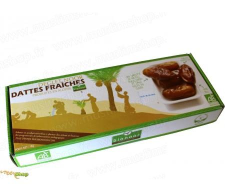 """Dattes fraîches Bio """"Deglet Nour"""" Bionoor 1kg"""