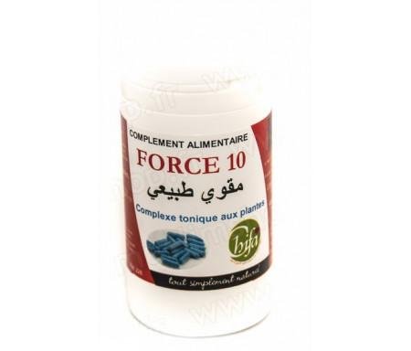 Chifa - Complément alimentaire - Force 10 - Complexe tonique de plantes
